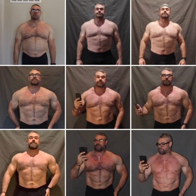 Robert's Weekly Progress Photos