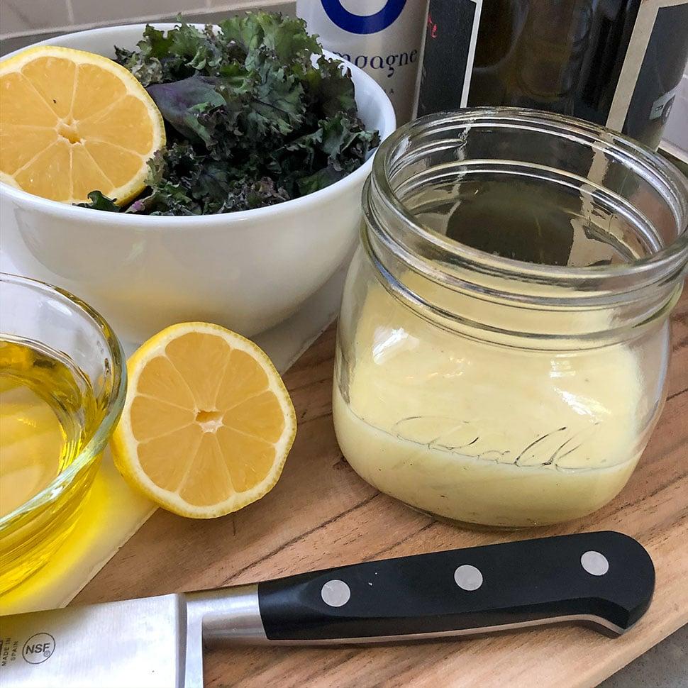 Champagne-Garlic-Vinaigrette-Recipe