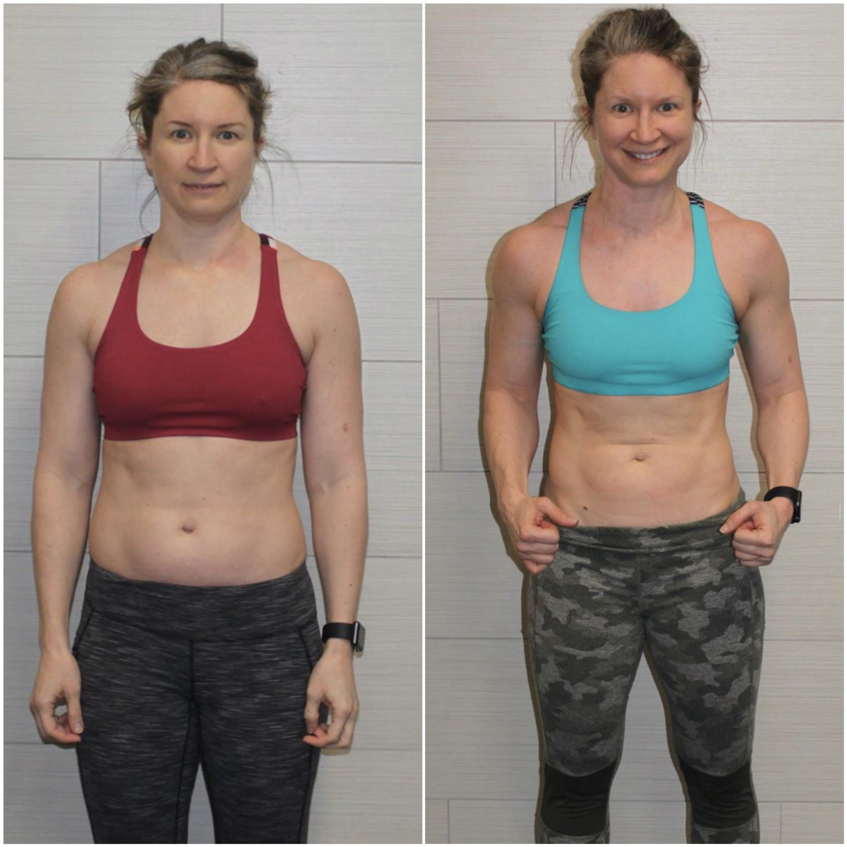 Crystal Milburn before and after weight loss