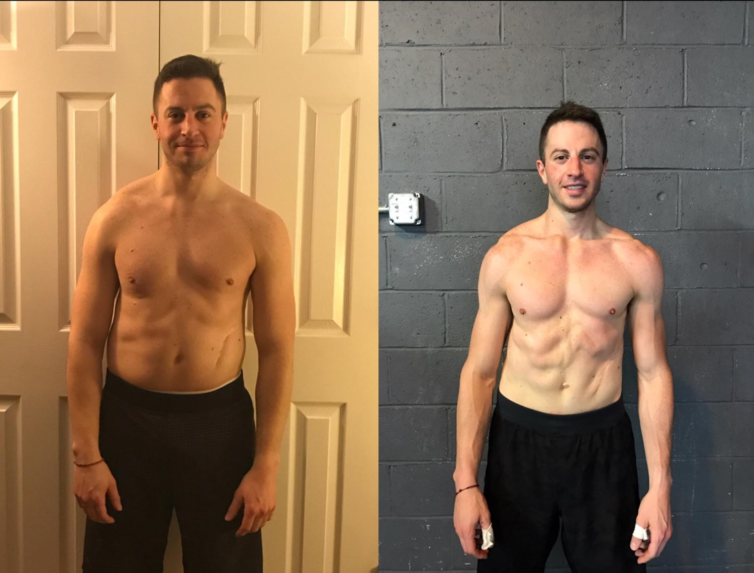Daniel Kupratis before and after weight loss