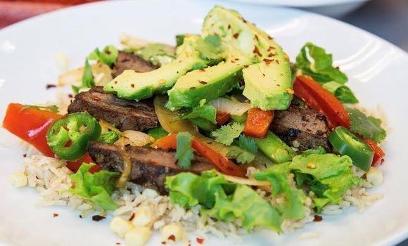 Flat Iron Steak Fajita Bowls-1-1