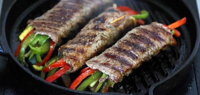 Clean Eating Recipe Dinner: Balsamic Glazed Steak Rolls