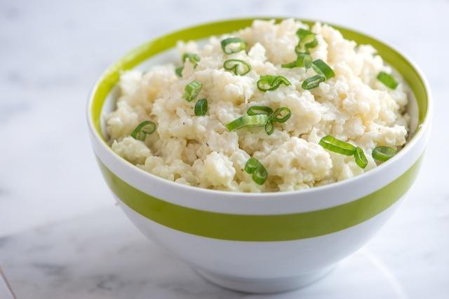 Clean Eating Side Dish Caulifower Mash