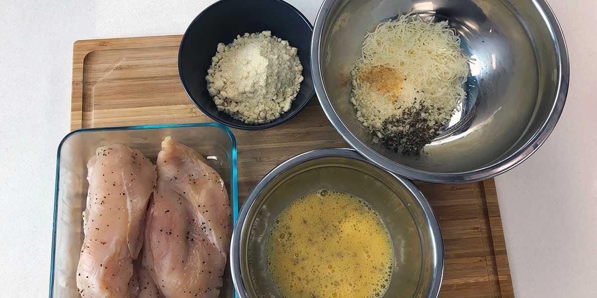 Keto-Chicken-Parm-Recipe-Breading-Process