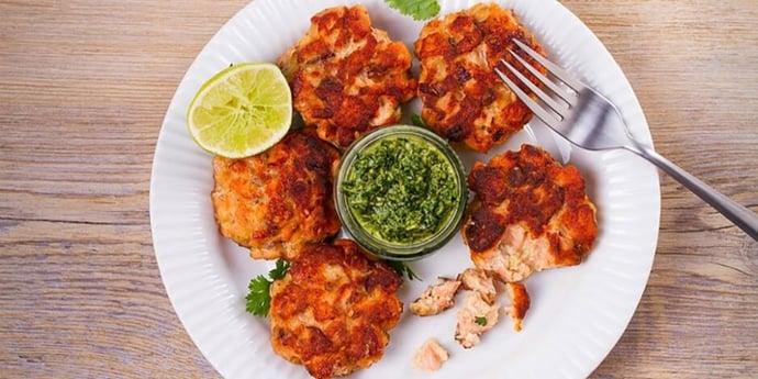 Keto-Salmon-Patties-With-Chimichurri-Sauce-Recipe-2