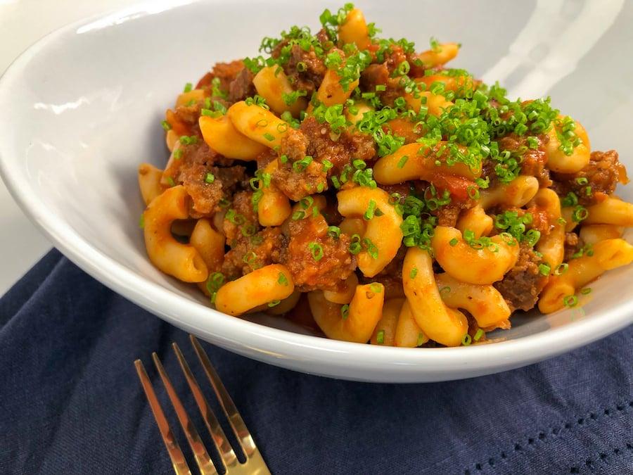 Macaroni and Beef Trifecta