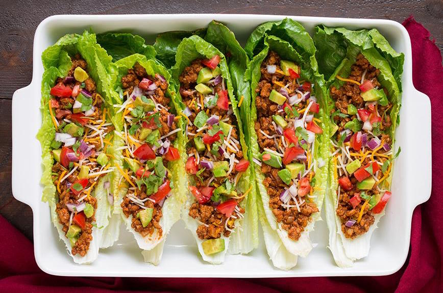Clean Eating Recipes: Lettuce Wraps
