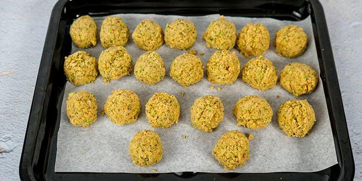 Paleo Broccoli Crispy Tots Recipe Scoop and Form Tots