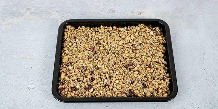 Paleo Gluten Free Granola Recipe Bake Granola in oven