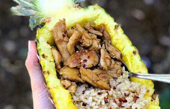 Pineapple Chicken Meal Prep-1