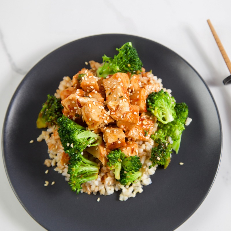 Sriracha-Honey-Sesame-Chicken
