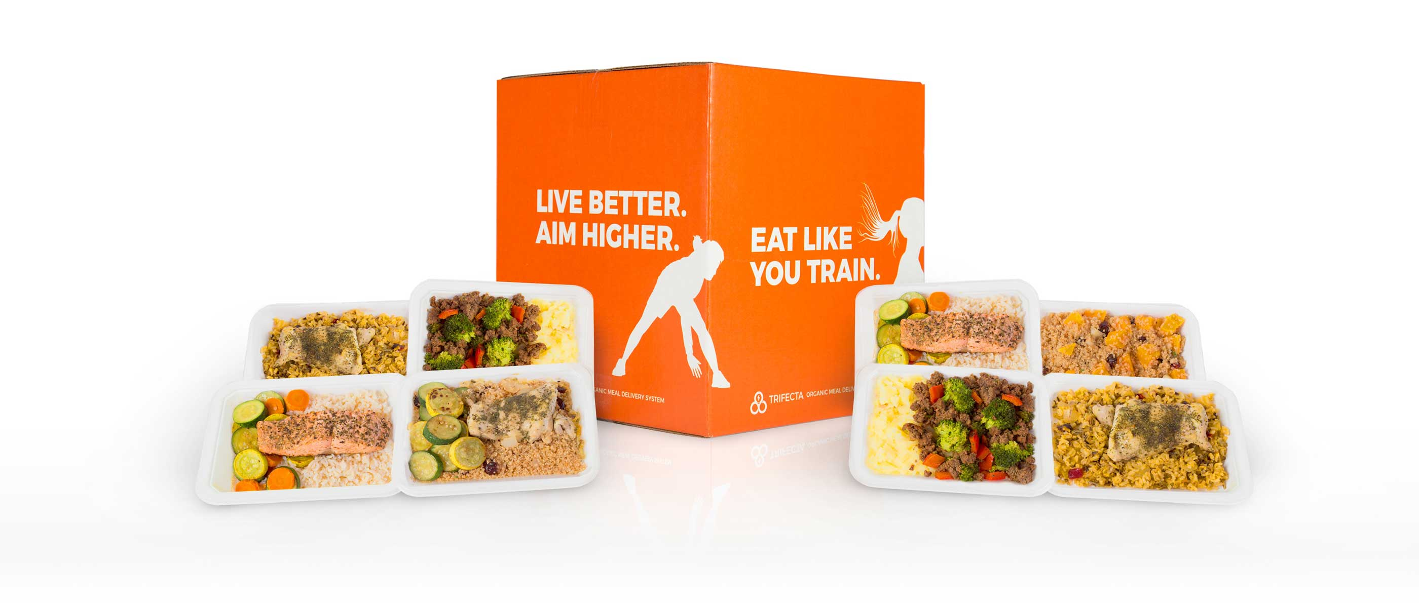 Trifecta - Organic Meal Delivery - Meals and Box -rgb