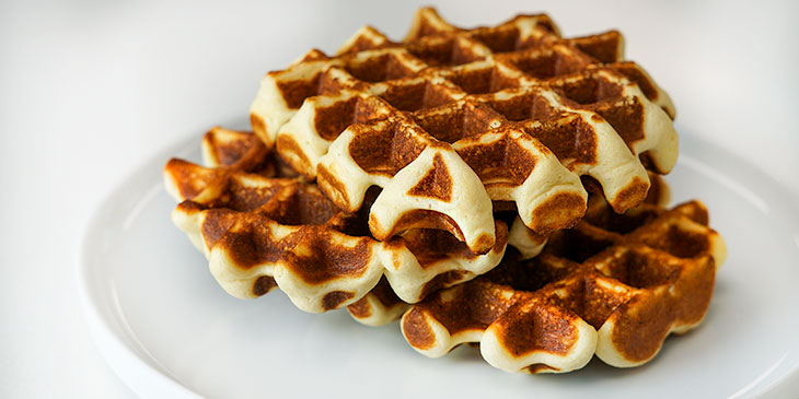 gluten free protein waffles meal prep