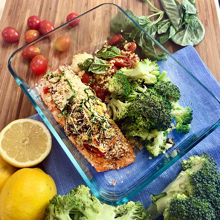 Unbelievable Italian Caprese Salmon Recipe
