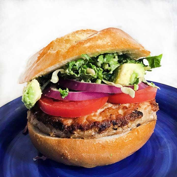 Kale Yeah Turkey Burger Recipe