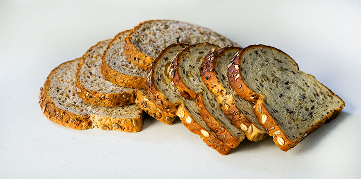 High-protein bread for French toast