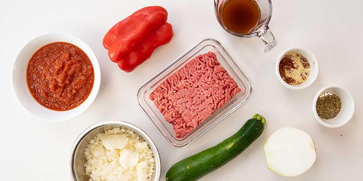 ingredients for keto casserole recipe