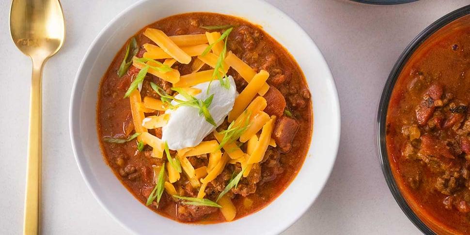 keto chili recipe for keto meal prep