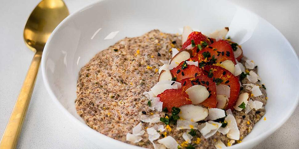 keto low carb oatmeal recipe