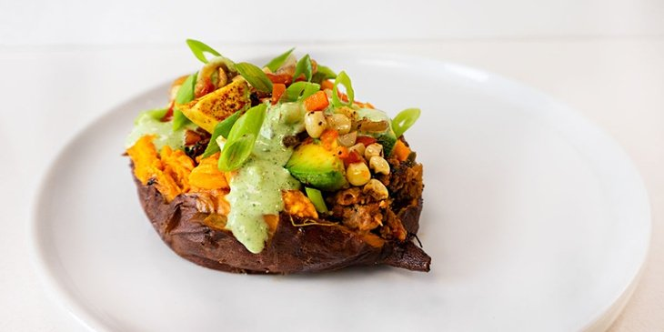 vegan southwest sweet potato recipe