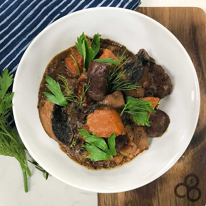 Savory Vegan Portobello Pot Roast Recipe
