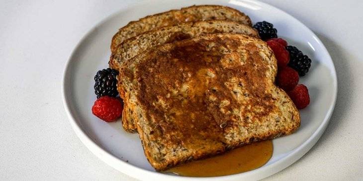 high protein vegan french toast recipe