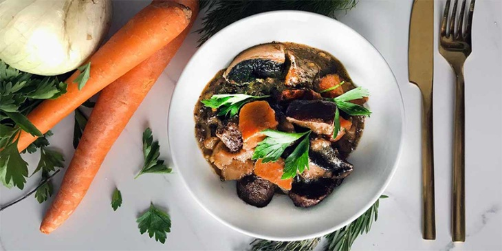 vegan portobello pot roast recipe