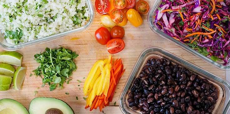 vegan burrito bowl ingredients