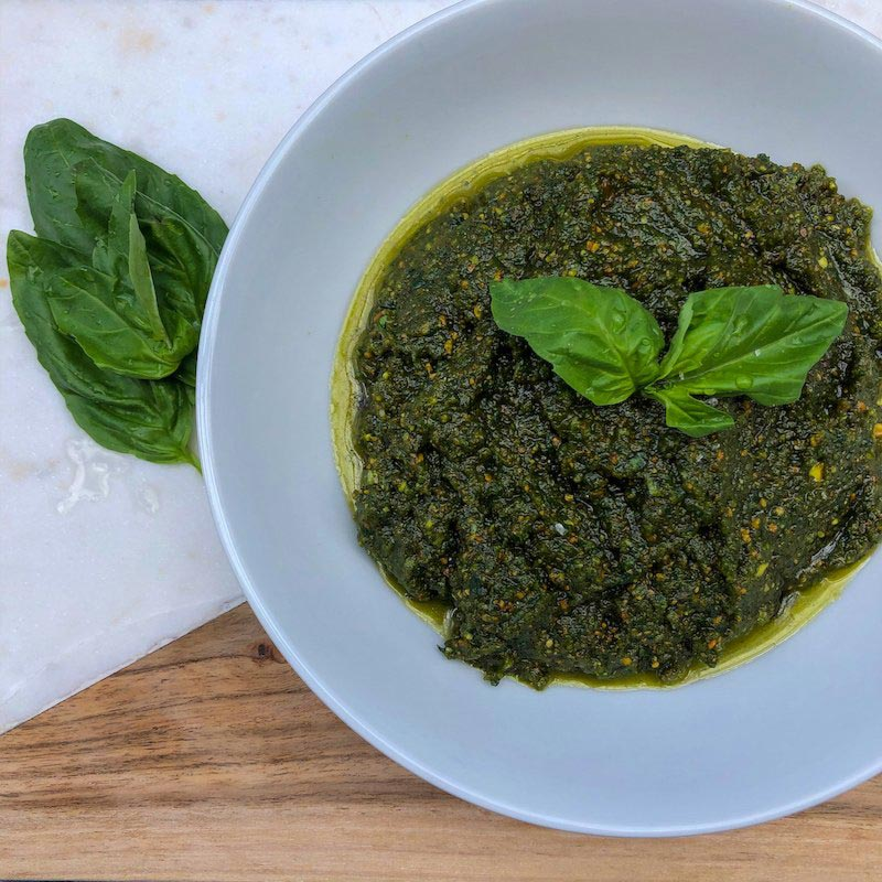 Classic Pesto Sauce Recipe
