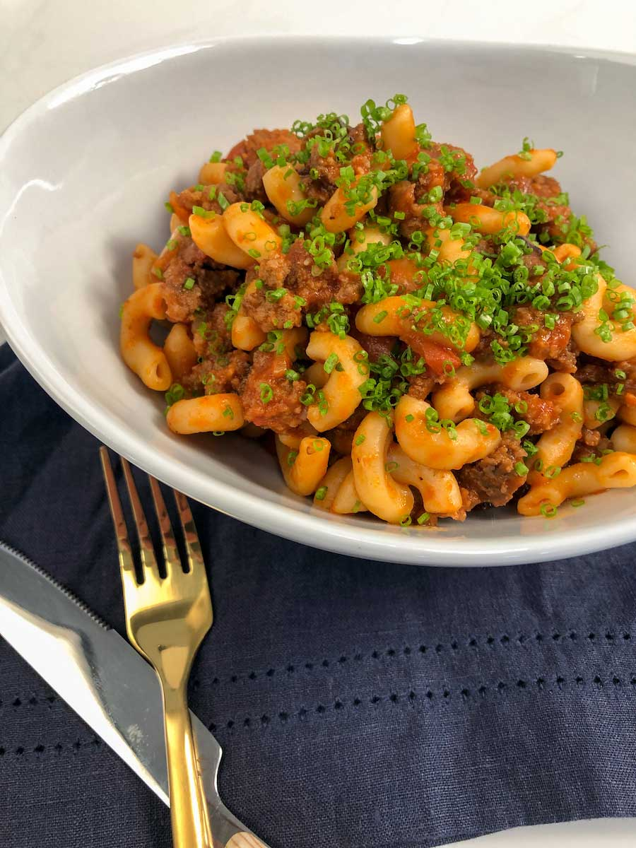 Trifecta Macaroni and Beef