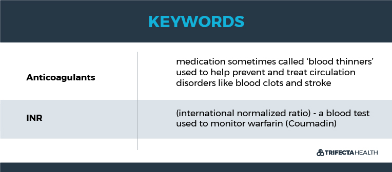TrifectaHealth_Keywords_Dietary Cautions on Warfarin