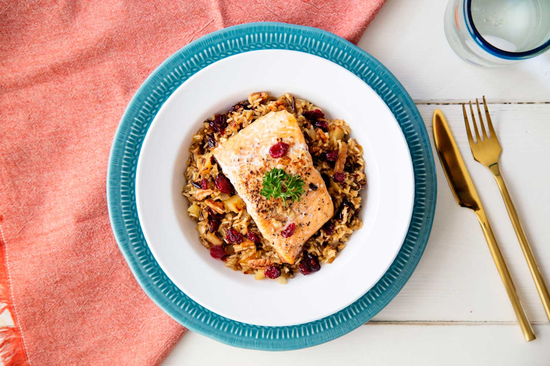 salmon-wild-rice