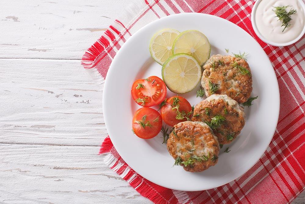 Tuna Cakes with Lemon Dill 2