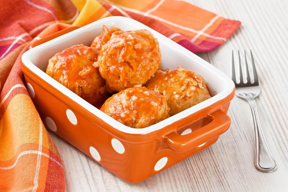 Turkey Asian Meatball