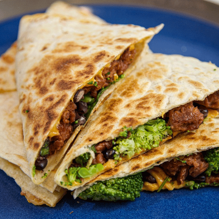 Vegan Mexican Beyond Meat Quesadilla Recipe
