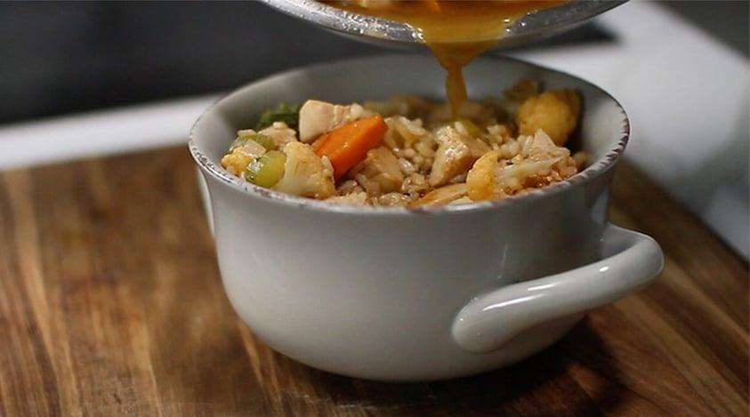 Winter Chicken Soup