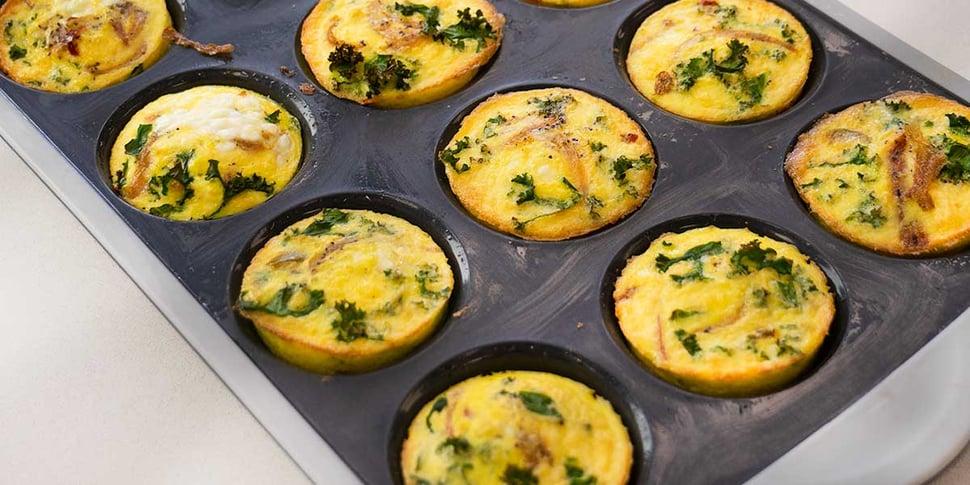 baked keto egg muffin recipe