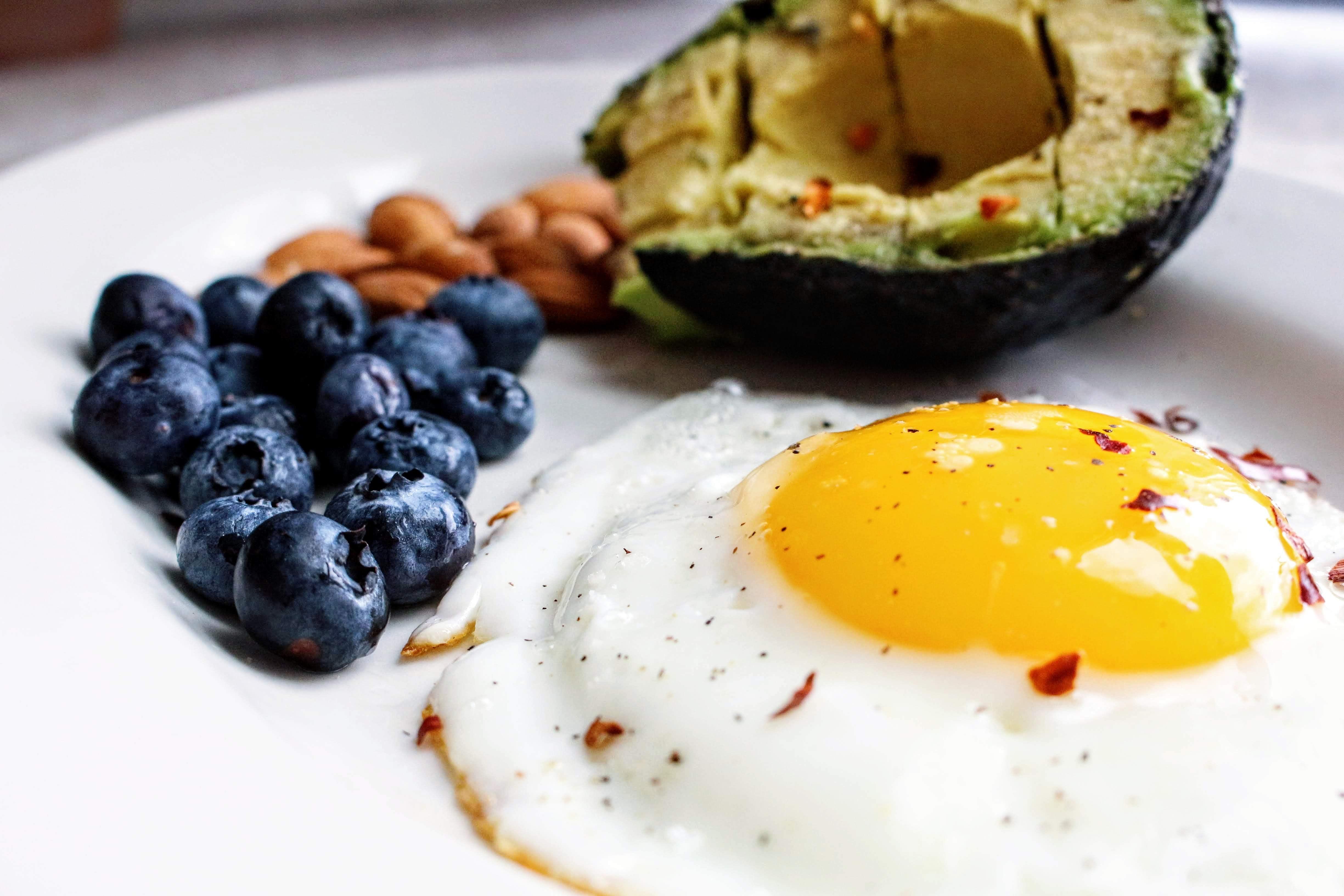 high fat breakfast high cholesterol on keto diet