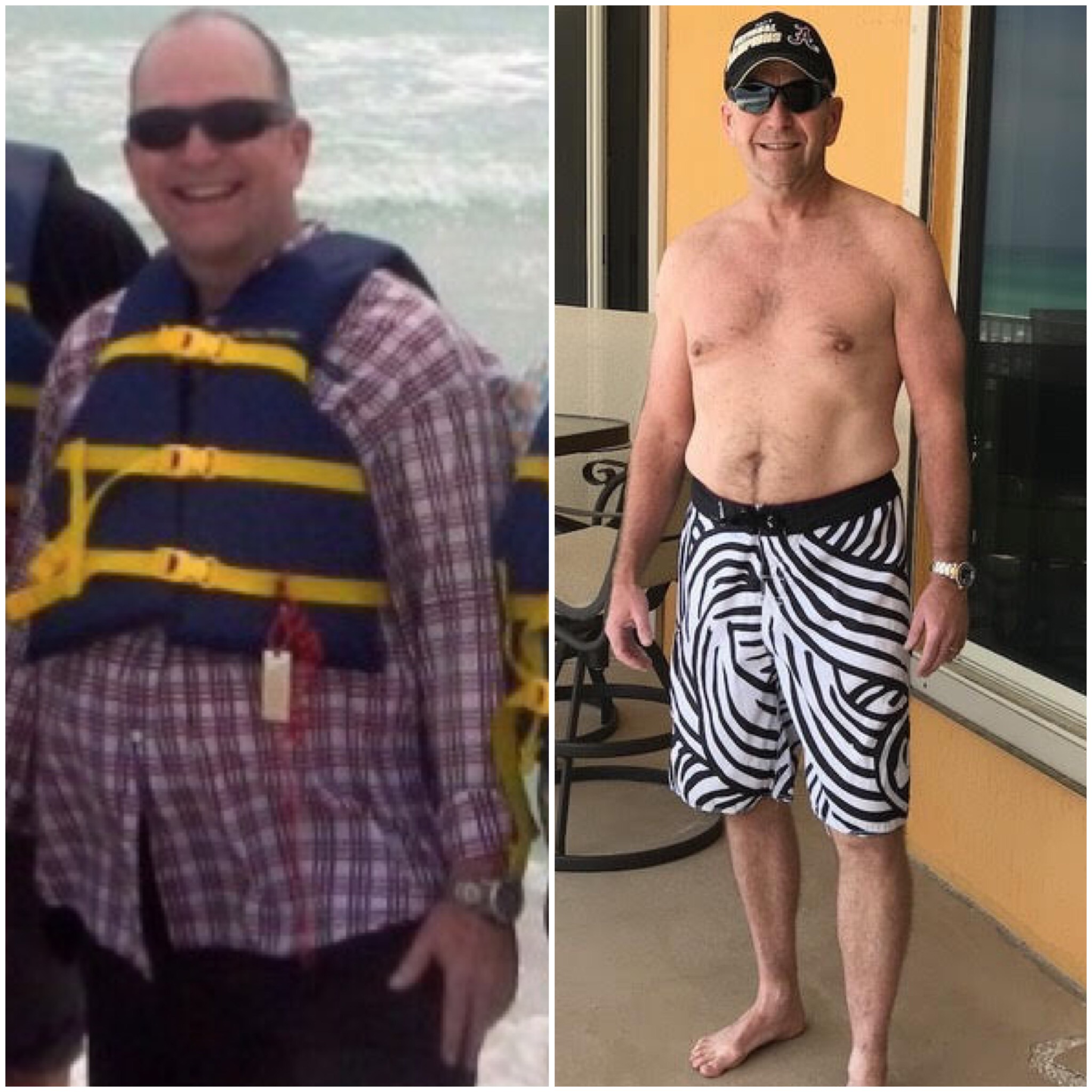 chris cole before after