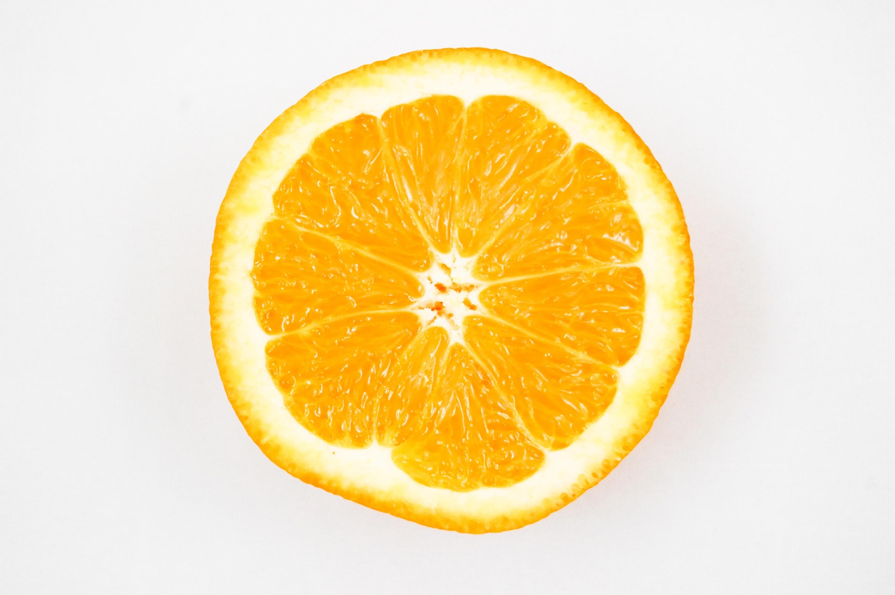 Half of a fresh myer lemon