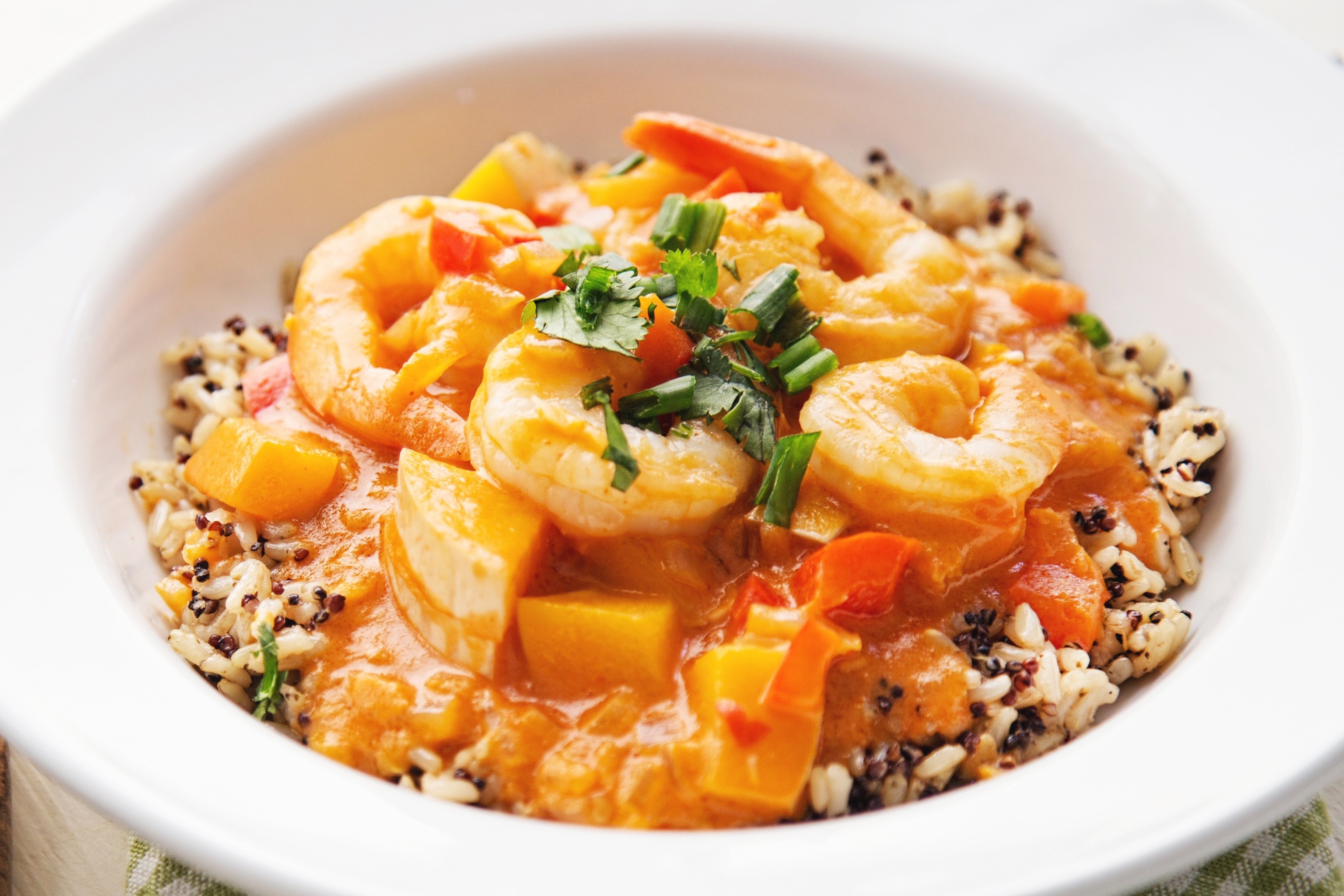 Curry shrimp -  CLEAN EATING