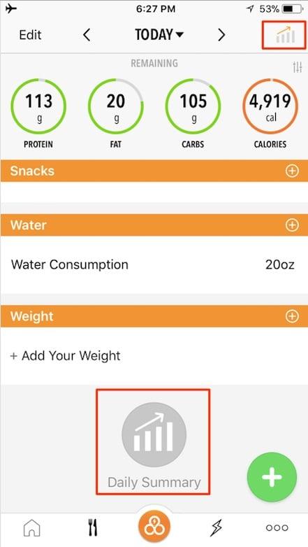 daily-nutrition-summary