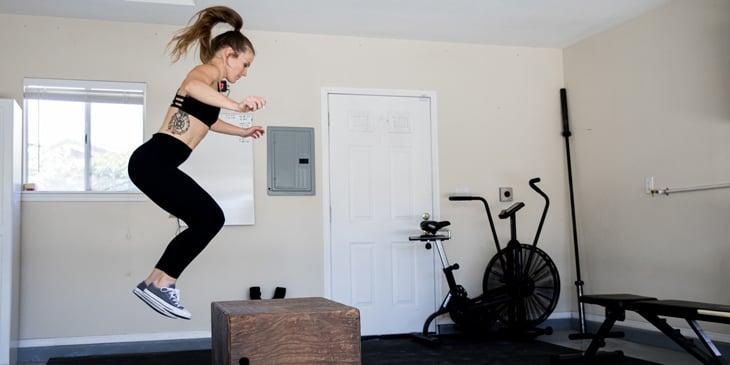 Molly Tilove Box Jump Reps