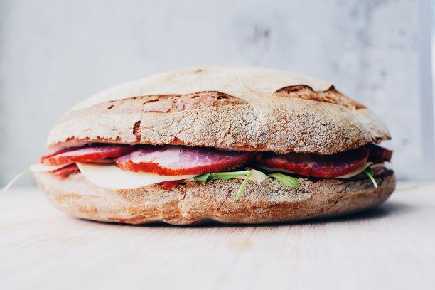 gluten containing foods sandwich