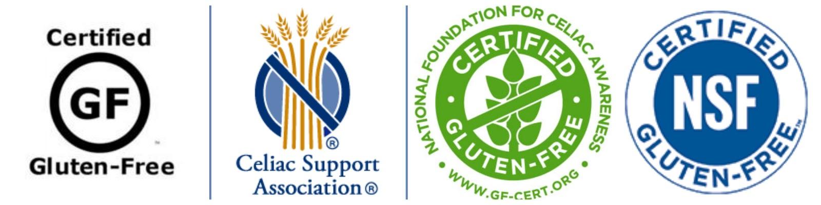 gluten free certifications