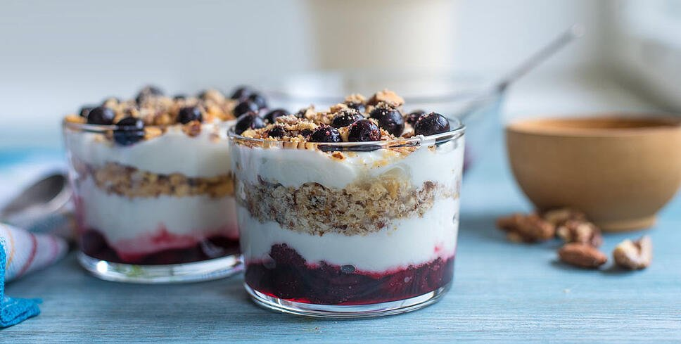 high protein yogurt parfait recipe