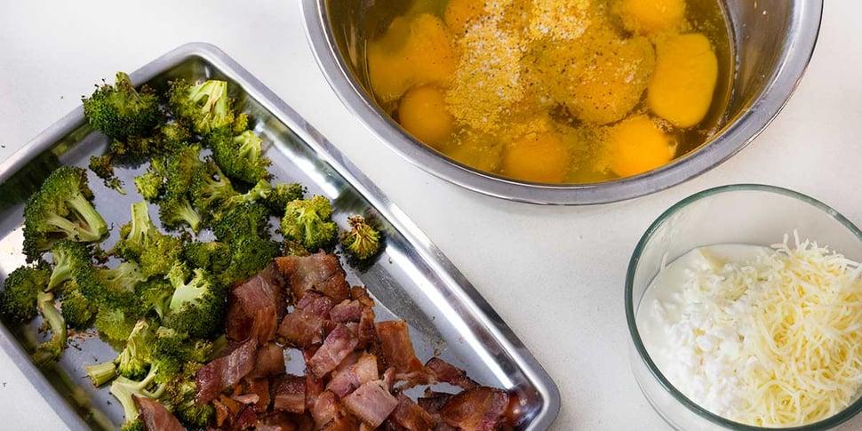 ingredients for keto breakfast casserole recipe