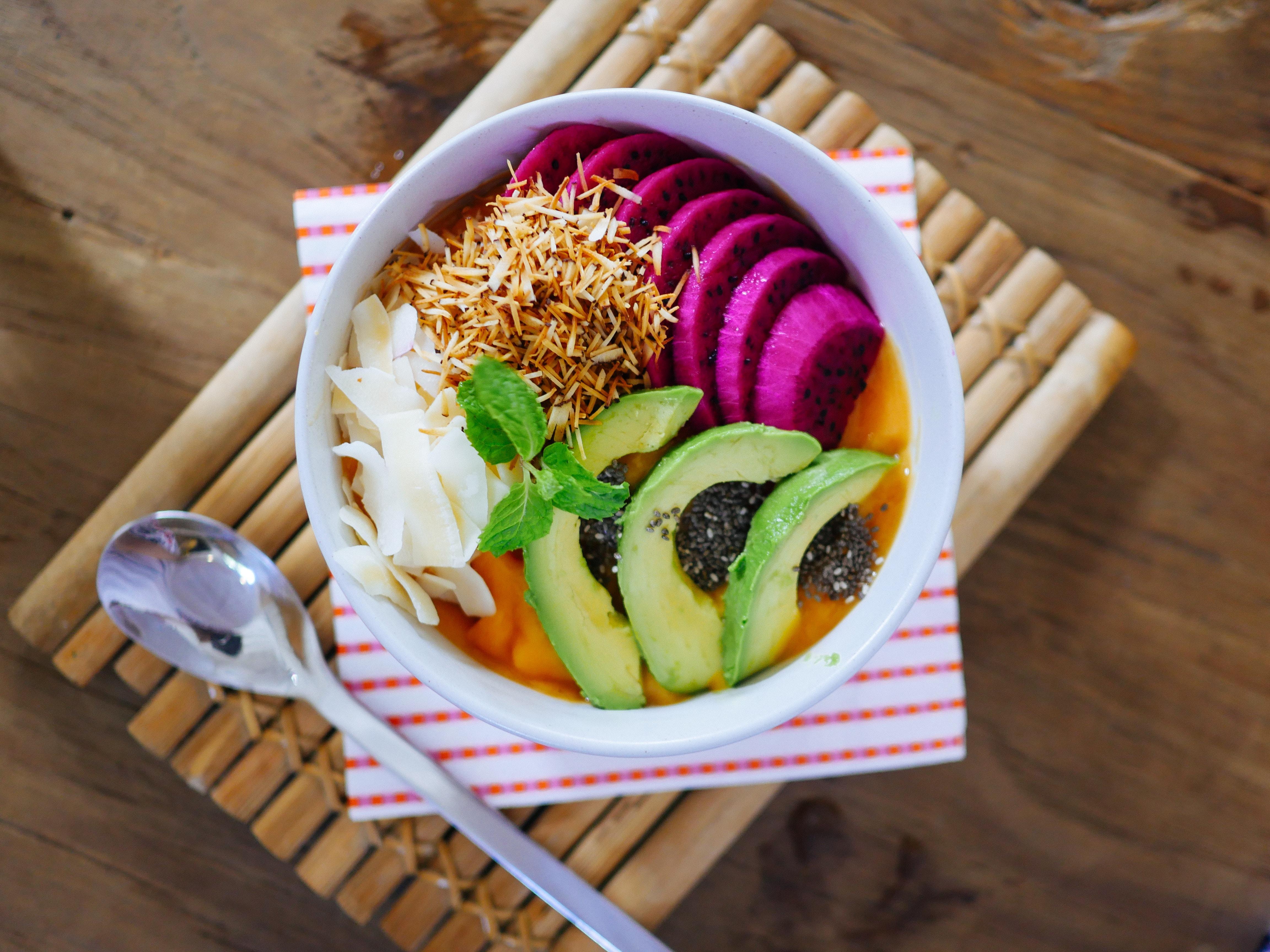 vegan bowl healthy fats