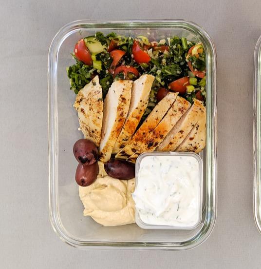 meal prep mediterranean chicken (1)