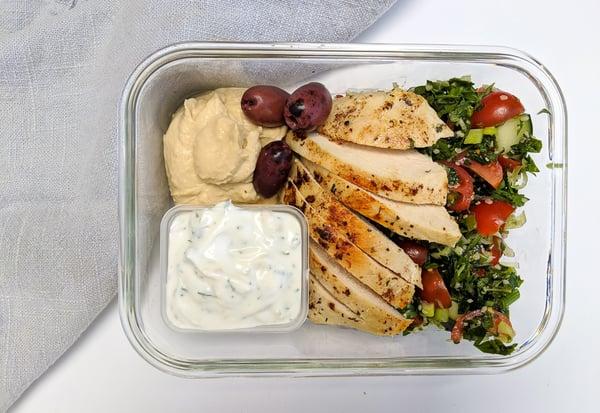 meal prep mediterranean chicken (3)